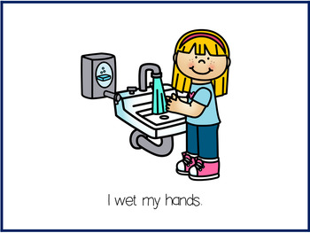 Washing Hands Classroom Routine