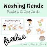Washing Hands *FREEBIE* | Poster, Lanyard & Cue Cards