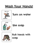 Washing Hands & Going to the Bathroom Visual Schedule ASD Austism