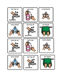 Washing Hands Picture Symbols (Boardmaker Word Doc)