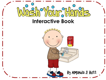 Washing Hands Routine Interactive Book: Life Skills; Special Education; Autism;