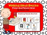 Washing Hands Routine Picture Cards and Poster (Communication) Autism