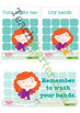 Washing Hands Sequencing Activity Cards