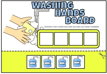 Washing Hands Token Board