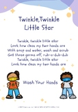 Washing Your Hands - COVID 19 Poster- Class Hygiene & Safe