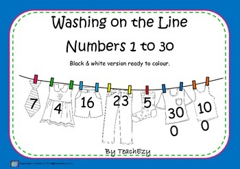 Washing on the Line B&W version