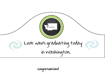 Washington Graduation Hat