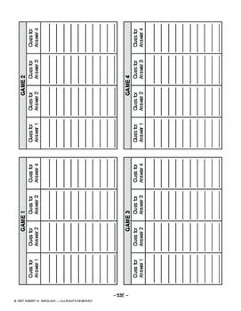 Washington Adams & Jefferson AMERICAN HISTORY LES. 53 of 150 Password Games+Quiz