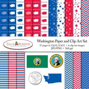 Washington Clip Art
