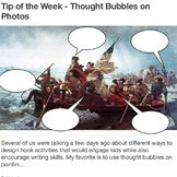 Washington Crossing the Delaware Thought Bubbles