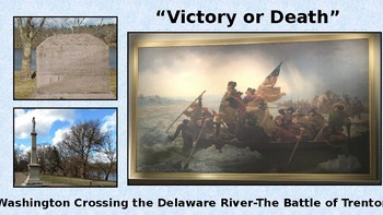 Washington Crossing the Delaware and the Battle of Trenton-Revolutionary War