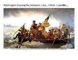 Washington Crossing the Delawaree: I See I Think I Wonder