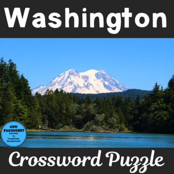 Washington Crossword Puzzle