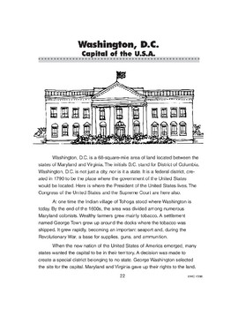 Washington, D.C.: Capital of the U.S.A.