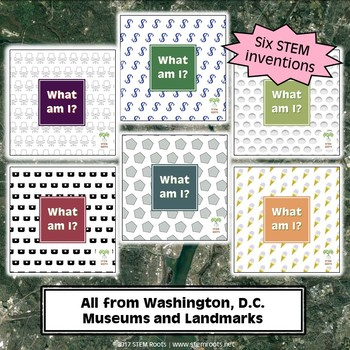Washington, D.C. Capital Landmarks STEM Discovery Cards Kit