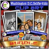 Washington D.C. Clipart USA Travel BUNDLE CM