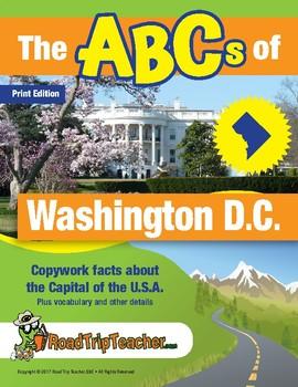 Washington, D.C. Handwriting Printables - Print Edition