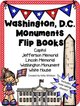 Washington, D.C. Monuments Flip Books