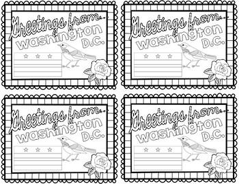Washington D.C. Postcard - Classroom Postcard Exchange