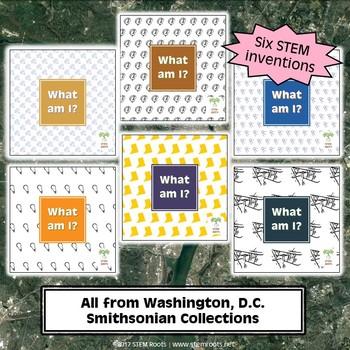 Washington, D.C. Smithsonian Treasures STEM Discovery Cards Kit