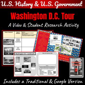 Washington D.C. Tour  ~A Student Activity~