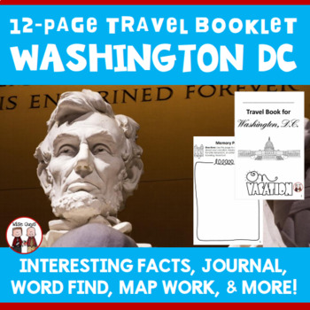 Washington, D.C. Vacation Travel Booklet