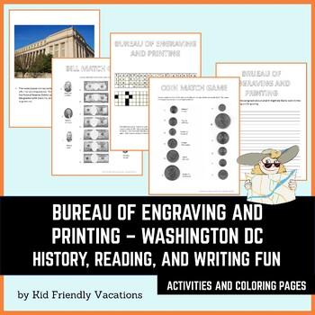 Washington DC - Bureau of Engraving and Printing - Information and fun games