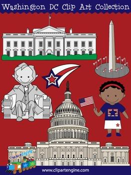 Washington D.C. Clip Art