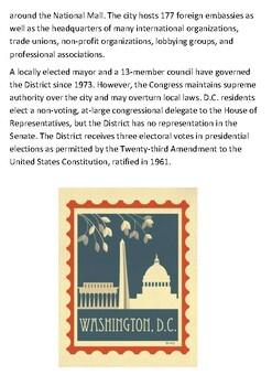 Washington DC Handout