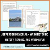 Washington DC - Jefferson Memorial - History, Facts, Color