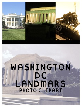 Washington DC Landmarks (For Personal or Commercial Use)