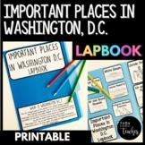 Washington, DC Landmarks Social Studies Lapbook