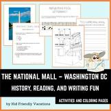 Washington DC - National Mall - History, Facts, Coloring P