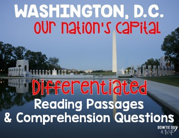 Washington, D.C. Our Nation's Capital Differentiated Readi