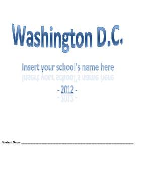 Washington DC Student Packet!