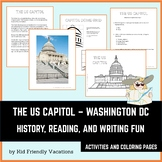 Washington DC - The US Capitol - History, Fun Facts, Color
