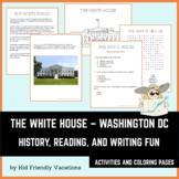 Washington DC - The White House - History, Fun Facts, Colo
