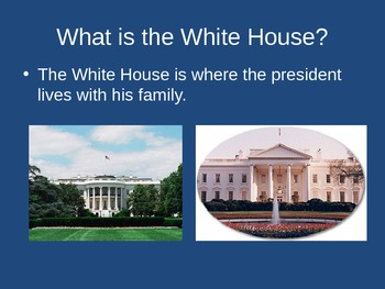 Washington D.C. & The White House Quiz and Learn