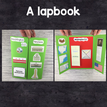 Washington DC : a research project and lapbook