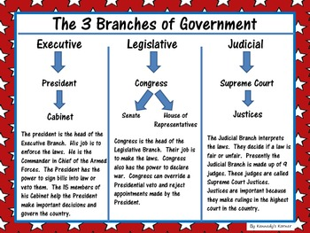 Washington D.C. and the Three Branches of Government:   A Complete Unit!