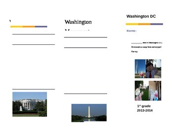 Washington D.C. brochure