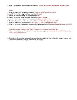 Washington EOC Review handout
