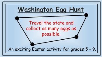 Washington Easter Math Activity