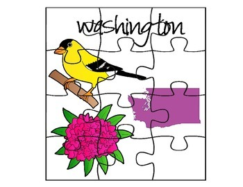 Washington Facts Puzzle Set