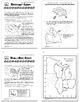 Washington Geography Interactive Bundle–8 Mapping Lessons + Washington Brochure