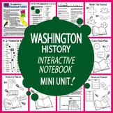 Washington State History–Interactive Washington State Study Unit + AUDIO!