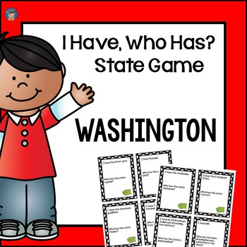 Washington I Have, Who Has Game