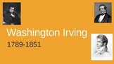 Washington Irving Biography PowerPoint