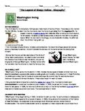 Washington Irving-Biography-TheLegend of Sleepy Hollow