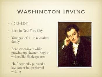 Washington Irving Biography and Background